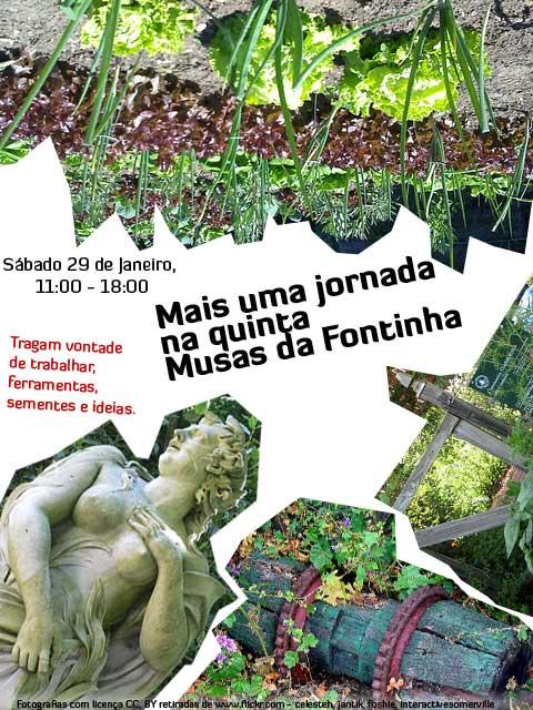 Cartaz jornada da horta 29 jan 2011